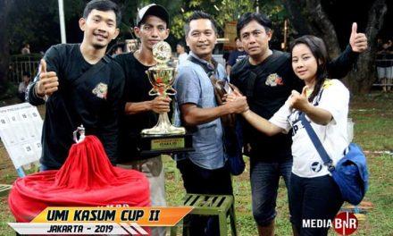 MB Krucil KAW Team Juara Dikelas BOB Non Ring Umi Kasum Cup II