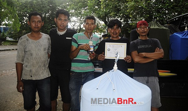 MB Ronggolawe milik Syahid Serua duduk manis dipodium  ketiga Kelas S3 (Foto: Arie/MediaBnR.Com)