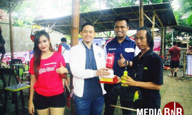 Pertamina Manjakan Kicau Mania, Duta Wiro Sableng Dan Danyon 501 Sabet Juara Umum Terbaik Di Bright Gas Cup 1