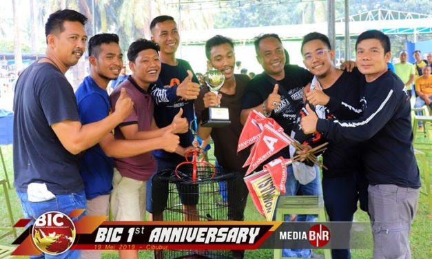 Come Back Mr. X Buktikan Terbaik 1st Anniversary BIC