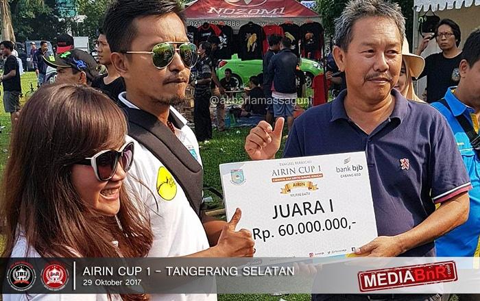 H Sukarto berhasil kawal squad Murai Batunya raih trophy kelas utama Airin