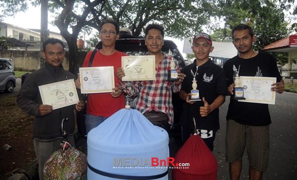 Mahadewi besutan Yono KBY Predator Team gasak double  winner di Lovebird (Foto: Arie/MediaBnR.Com)