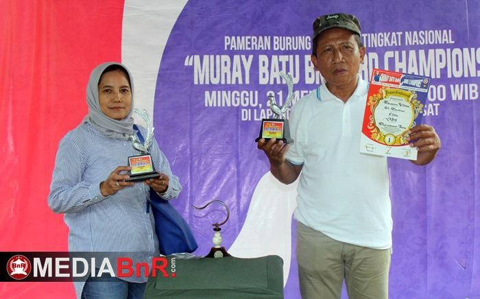 Come Back, New Sensasi-Pangeran William Menggebrak Murai Bird Champhionship