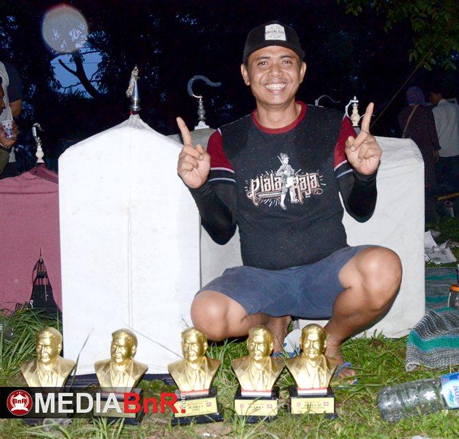 Meski tak jadi bawa Murai Batu Bali Galau ternyata masih mampu bawa lima trophy