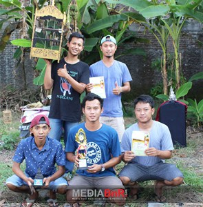 Mokok Jr Bersama Ciblek Super Ego Raih Double Winner