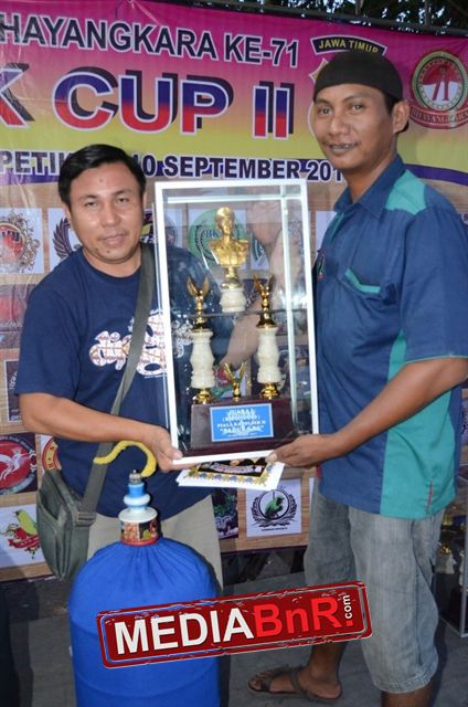 Mr Jemmy K3 Sulteng bersama sang pemandu Bakat Bhudy Spj