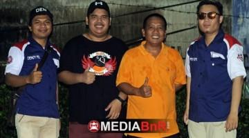 Mr Ozi Betawi SF dan Om Cecep  Diapit oleh Kedua Punggawa BnR Reg Banten 1