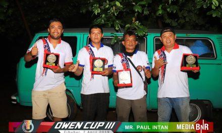 Amunisi MR Paul dari Klaten Unjuk Prestasi Di OWEN CUP 3