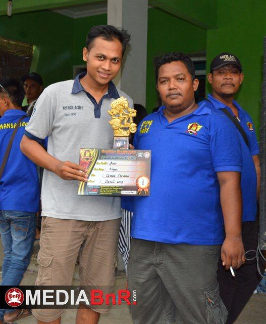 Mr. Anto rayakan kemenangan Nagen