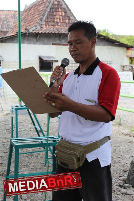 Mr. Arso selaku Ketua OBI Demak dan owner gantangan Panji Wulung