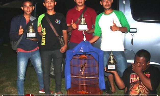 Tampil Trengginas di Candi Borobudur Cup 1, Bekecot Buktikan Diri Sebagai Murai Papan Atas