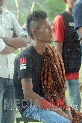 Mr. Suyatno (kaos hitam) HH Bird Pantau Dewa Ruci