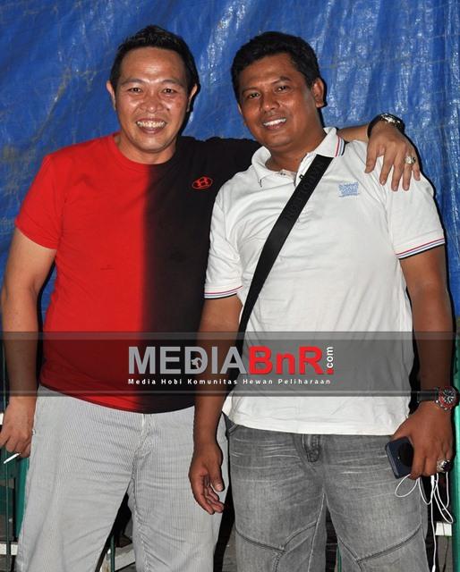 Mr.King & Achonk MDR Ketua BnR Banten - Siap Bersinergi Untuk Kicaumania Tangerang