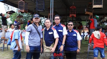 Mr.Yayang dan Pengurus BnR Pusat Siap Sukseskan Lomba Dir Reskrimsus Cup