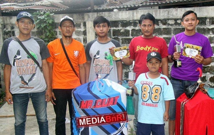 Murai Batu Sangkuriang Milik Quat Sunter Raih Nyaris Double Winner