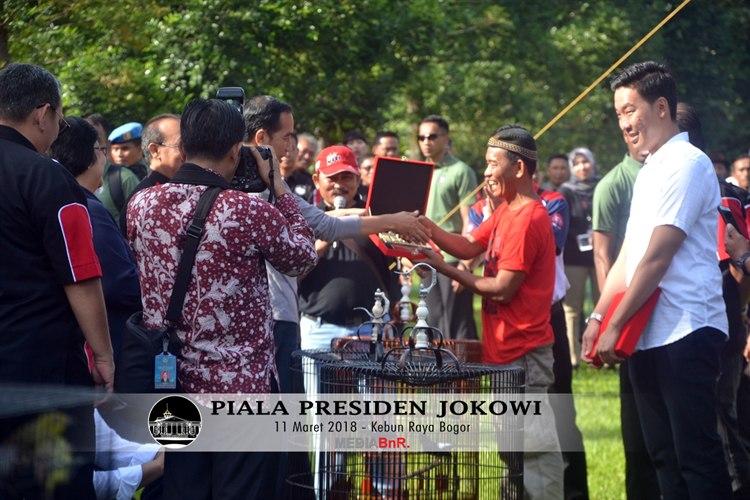 Zaman Keemasaan Burung Berkicau di Tahun 2018 Dengan Adanya Piala Presiden Jokowi