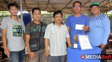 Murai Kingkong Gacoan Tamam Juara Pertama