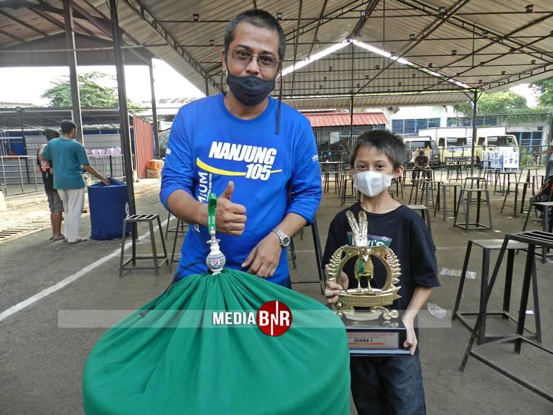 Murai Batu Jebolan NF2IS Smart Mastering Raih Juara di Murai Batu Bird Champion Nanjung 105 Jakarta