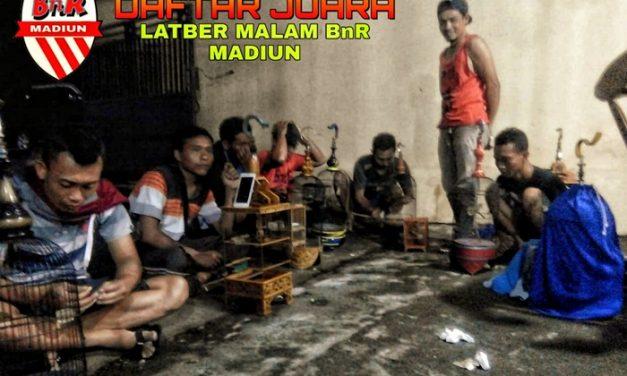 Daftar Juara Latber BnR Madiun (21/3/2019)