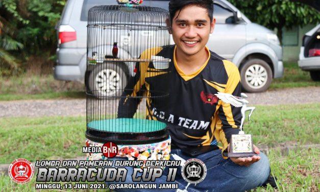 KONIN MINION RAIH DOBEL WINNER DI BARACCUDA CUP II