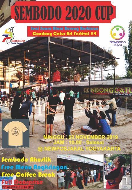 Seni Suara Alam Burung Berkicau Condong Catur Art Festival #4