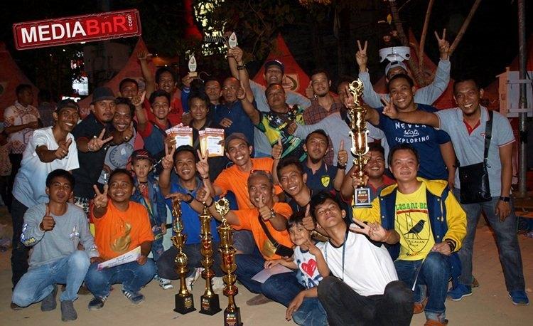Losari BC, Okust SF dan Dapes BC Tunjukkan Solidaritas Kicaumania Makassar
