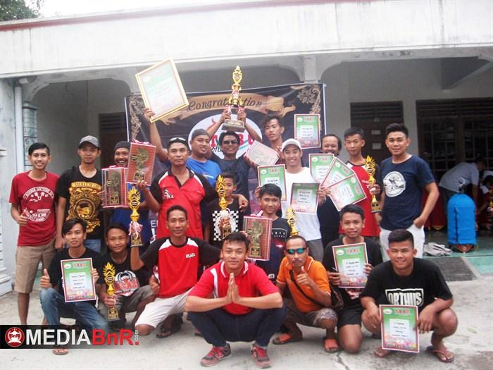 TBBC Buka Bersama : Olala Vega 37 dan Adrian BF Juara Umum