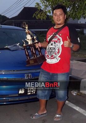 Tedy Kibarkan Bendera V3 BKS Sebagai Juara Single Figther