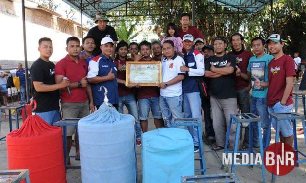 Tanpa Perebutan Juara Umum Lomba Berjalan Ramai,  Dihadiri Owner Dream Sengon Mr Tito