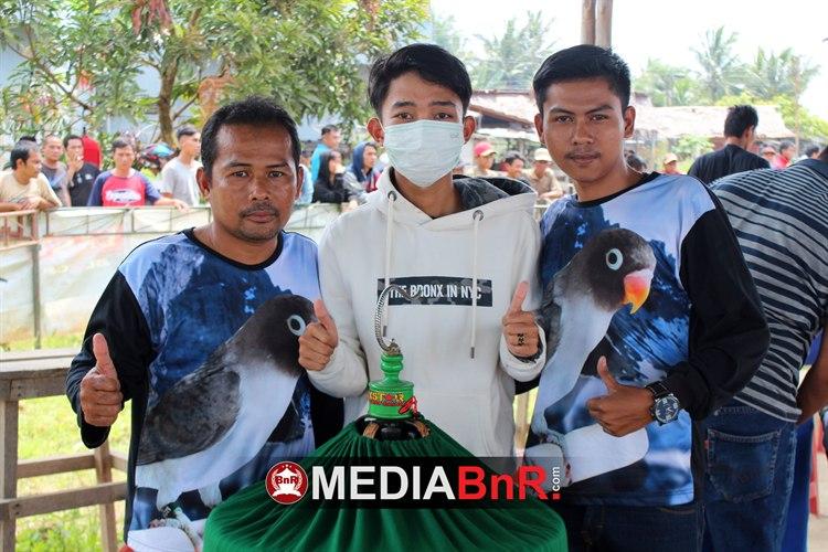 Ombak, Moza Dan Sanaya Cetak Double Winner