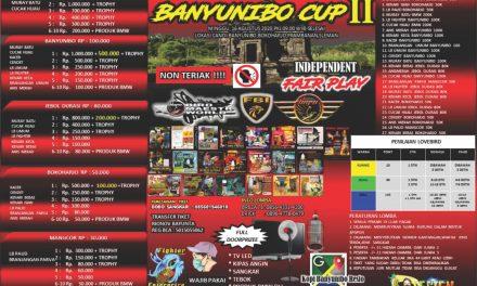 Pameran dan Lomba Burung Berkicau Banyunibo Cup II