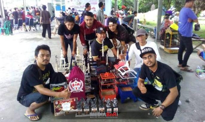PCMI Chapter Pontianak Kopi Darat di Festival Borneo Berkicau