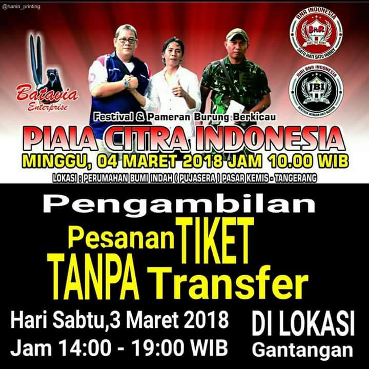 Piala Citra Indonesia – Tiketnya Sudah Menipis, Ini Jadwal Lombanya