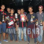 PATUS, BUNDA & MESSY  HANTARKAN H. ASEP ALBA JUARA UMUM SINGLE FIGHTER