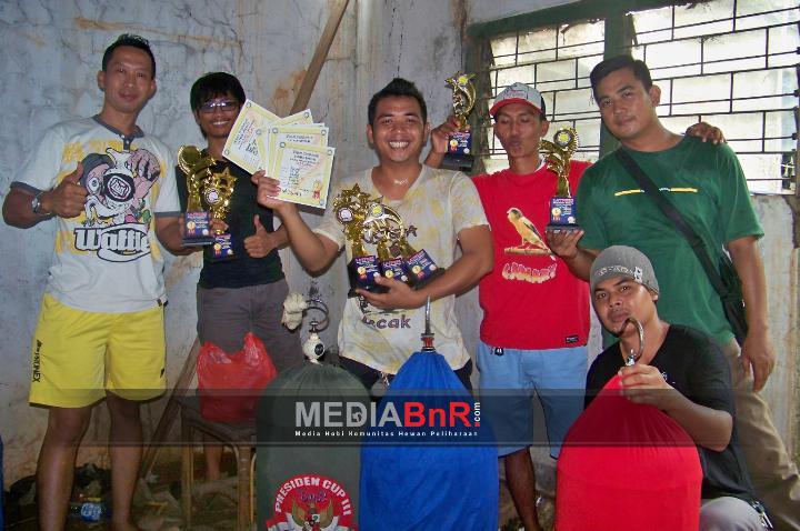 Tio GG Evolution Borong Juara, Rajab Hattrick