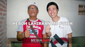 (POTO HL NYA) Ayung (putih) pemilik penangkaran yang menghsilkan anakan MB putih ftr2
