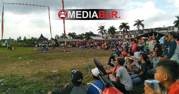 Peserta membludak di nasional lapak Cikurubuk Tasikmalaya.