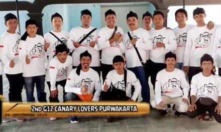 """ISTIMEWA"" 2nd G12 Canary Lovers Purwakarta"
