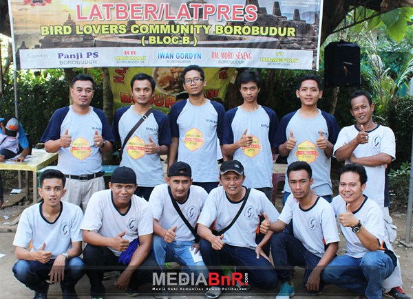 Panitia Bird Lover Community Borobudur