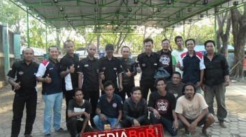 Panitia  BnR Indramayu bersama juri yang bertugas dilapangan