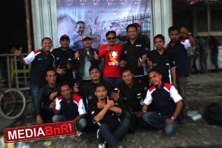 Panitia bersama juri BnR di even Road to Domba Cup I Indramayu
