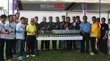 Panitia dan JBI Beserta Pejabat Teras di Walikota Cup I Prabumulih