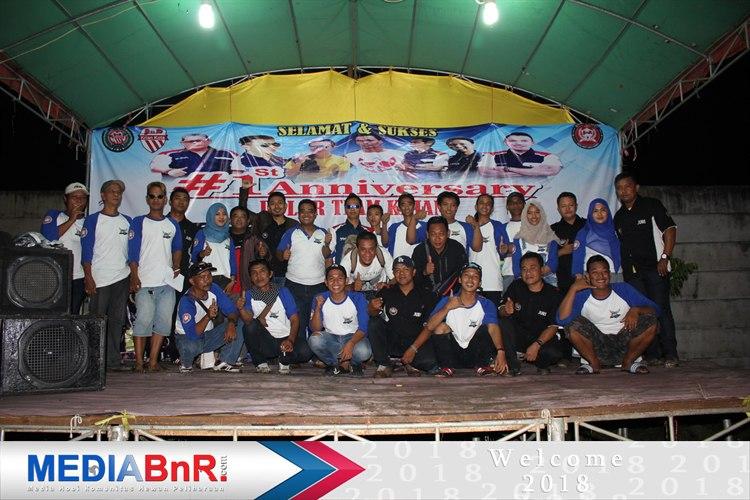 Panitia dan Juri 1st Anniversary Dulur Team Sukses Gelar Lomba