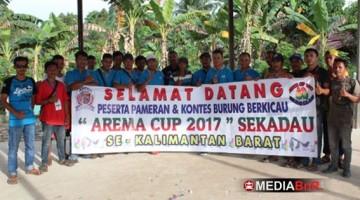 Panitia dan Juri Arema Cup 2017  Sekadau, Kalbar