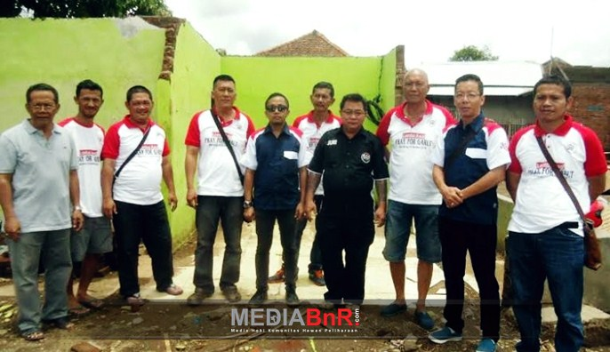 Para Petinggi BnR Jabar dan BnR di Lokasi Bencana