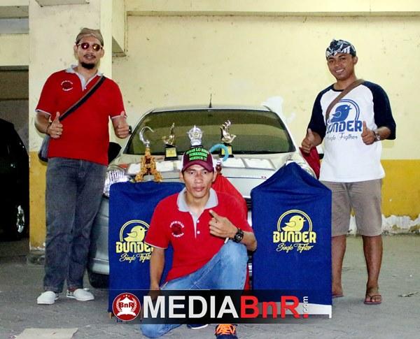 Tuan Menir Kenari Paruh Team Tanggerang Sumbang Poin Saat Paruh Team Juara Bird Club