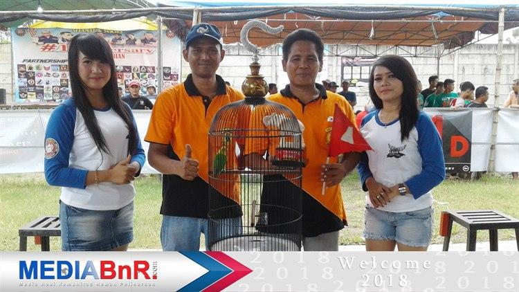 Pasca Mabung Love Bird Gulthor besutan Bakri BC NBC Klaten Berhasil Meraih Juara Satu di Krian