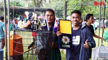 Pemain dari kampung Cilempuk jawara di BnR Award