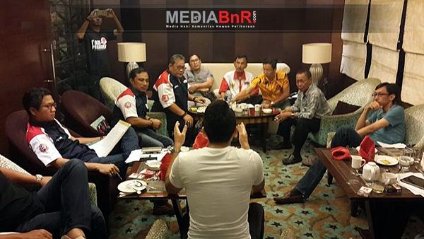 Ketok Palu AD dan ART BnR Indonesia di Kota Semarang