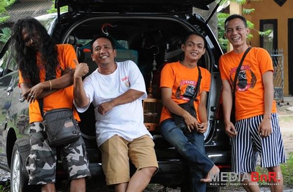 Penampakan BE74WI SF di Baduy Rawayan menggegerkan (Foto: Rizal/MediaBnR.Com)